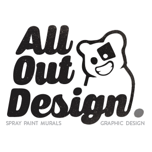 All Out Design Logo