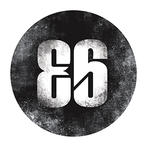 Eighty Six Logo by All Out Design